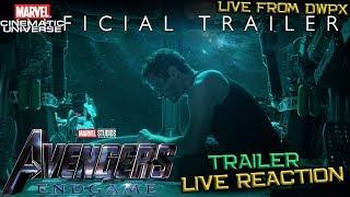Avengers 4 End Game Trailer Live Reaction