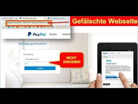 Paypal Ihr Konto Wurde Gesperrt