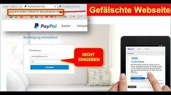 Paypal: Ihr Konto wurde gesperrt
