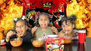 2x SPICY NOODLES CHALLENGE ( EXTREMELY SPICY )