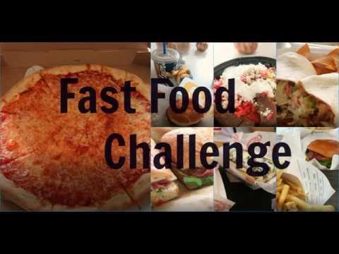 1 Woche Fast Food Challenge USA|Florida Leben