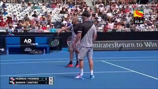 Bahrami/Santoro vs McEnroe Brothers - Australian Open 2018