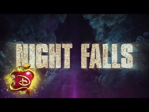 Night Falls ⚔️ | Lyric Video  | Descendants 3