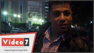 """بالفيديو .. مواطن للمسئولين :"""" زحام مستمر بسبب الأسواق العشوائية بدار السلام """""""