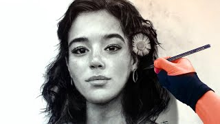 Drawing Hawaiian Princess - from live stream