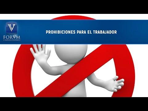 Prohibiciones para el trabajador. [Derecho Laboral] - YouTube