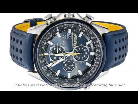 Citizen Blue Angels World Chronograph A-T AT8020 Watch ...