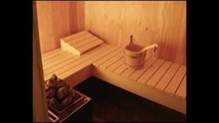 видео Как сделать полку в бане, выбор древесины и инструкция по изготовлению