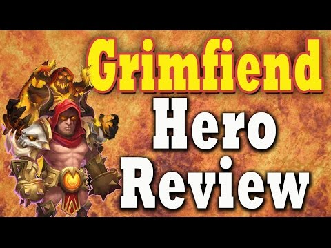 Castle Clash-8 Star Grimfiend Review And Gameplay
