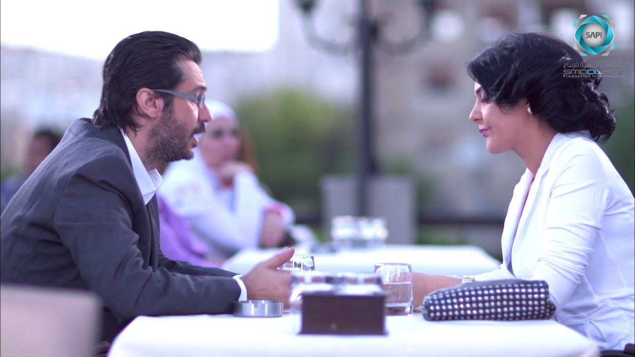 مسلسل سكر وسط الحلقة 21 الواحد والعشرون   ميلاد يوسف و رامز الاسود و رنا ريشة