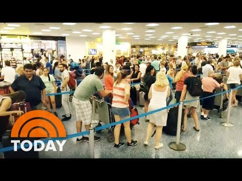 Hurricane Irma: Chaos At Miami's Airport And Cruise Ports | TODAY