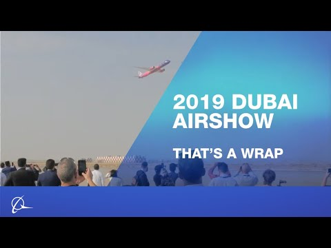Boeing highlights from Dubai Airshow