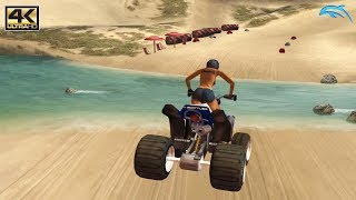 ATV Quad Power Racing 2 - Gamecube Gameplay 4K 2160p (DOLPHIN)