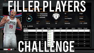 nba 2k16 rebuilding challenge 13 the filler players challenge   these players suck