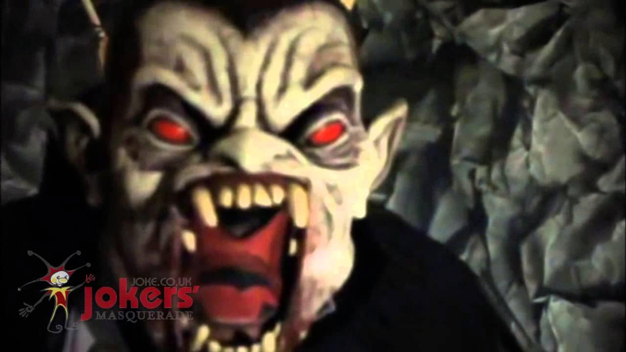 vampire ani-motion mask (ref: 75094) - youtube
