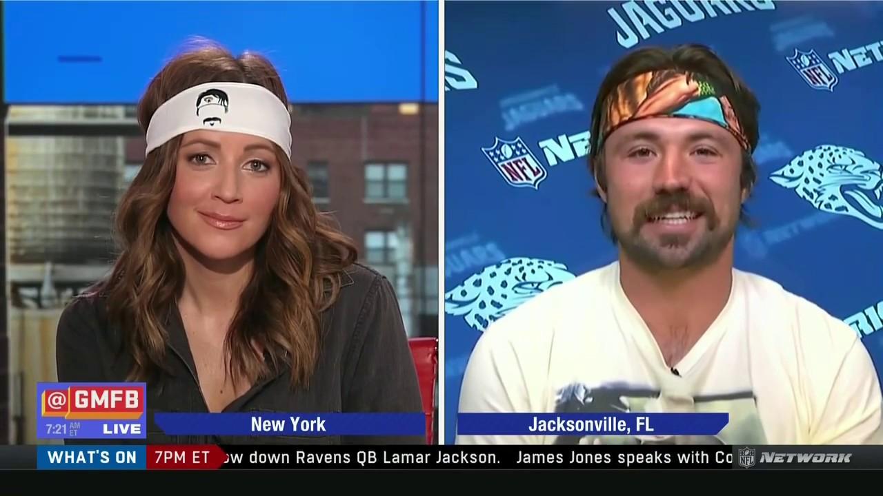 Gardner Minshew interview: mustache, Nick Foles, game vs Texans, Jaguars