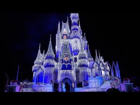A Frozen Holiday Wish 2017 Walt Disney World Magic Kingdom