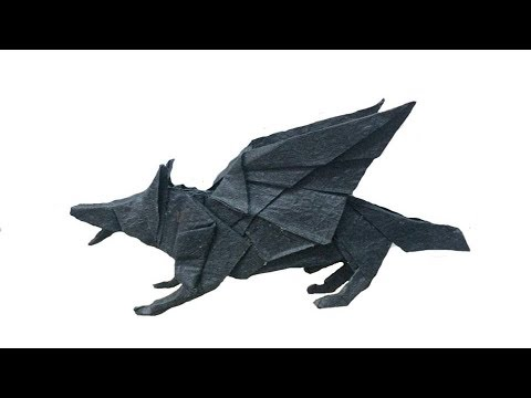 Easy Origami Wolf - How to make a paper wolf - YouTube | 360x480