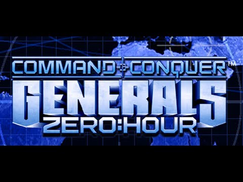 C&C Generals ZH - 1 vs 1 - Stealth Vs Nuke