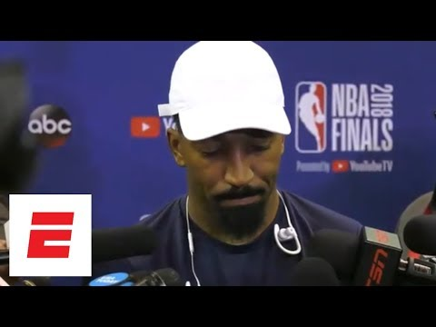 JR Smith on his mistake in Game 1 of NBA Finals: 'Can't say I was sure of anything' | ESPN