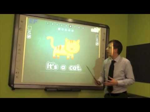 Interactive Whiteboard Demo - EF English First Dalian China