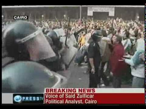 said zulficar in cairo on egyptian uprising [28 january 2011]