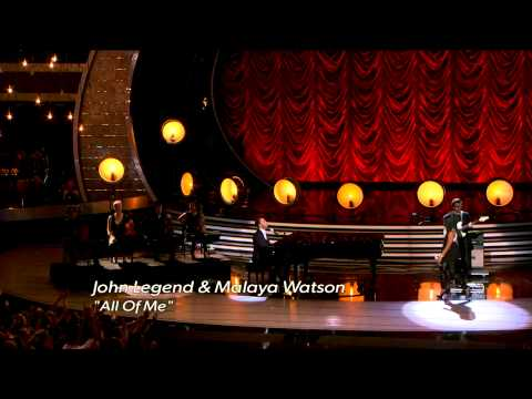 John Legend - You and I + All Of Me With Malaya Watson - American Idol 13 Finale