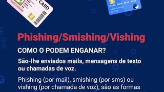 Segurança Online #3 - Vishing, Smishing e Phishing