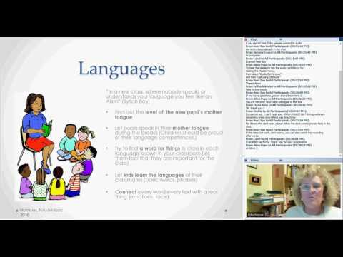 The integration of newly arrived migrant students in daily school life webinar