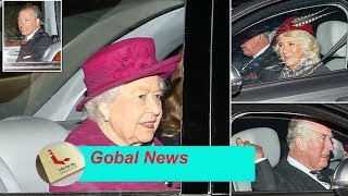 The final day of the Queen's holidays and grandson David Armstrong Jones before Charles hospitalized