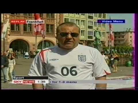 Ray Winstone - Sky News interview - World Cup 2006