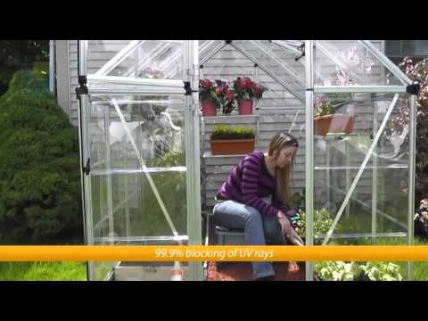 Palram 6x8 Snap & Grow Hobby Greenhouse Kit (6x12, 6x16 and 8' wide  available)