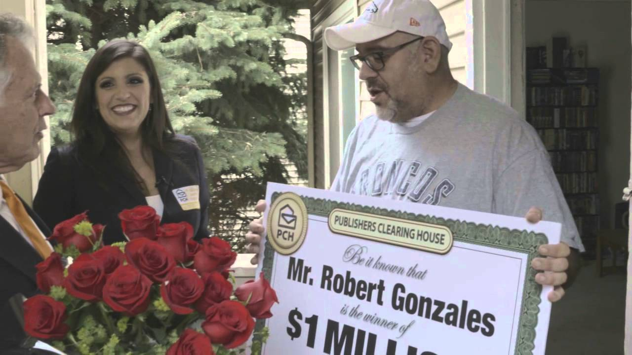 Publishers Clearing House Winners: Robert Gonzales From Lakewood, Colorado  Wins $1 Million