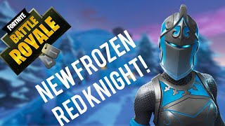 *NEW* Frozen Red Knight Skin! - Fortnite Battle Royale Gameplay