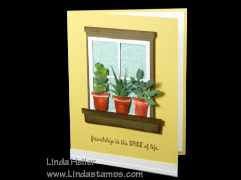 Stampin up Gift From The Garden Herb