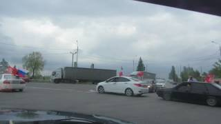 автопробег на 9 мая в городе Таганроге 2017