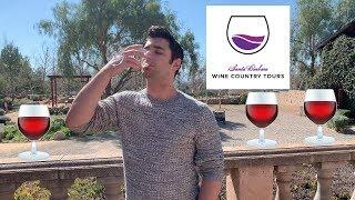 Wine Tasting! Santa Barbara Wine Tasting @ Santa Ynez Wineries 🍷🍷🍷