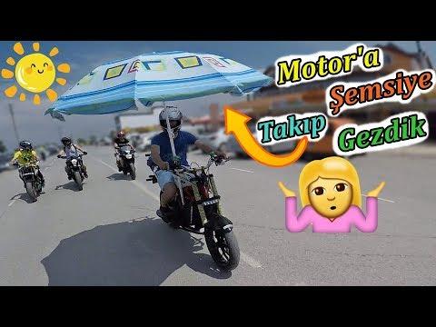 MOTORLARLA KUMSALA GİRDİK - MotoVlog#160