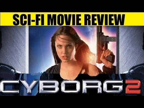 CYBORG 2 : GLASS SHADOW  (1993 Angelina Jolie ) Sci-Fi Movie Revie