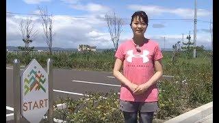 かける!~東北・みやぎ復興マラソン2018~」 ~復興の花 コスモスプロ...