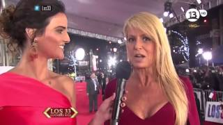 Cecilia Bolocco alfombra roja de los 33