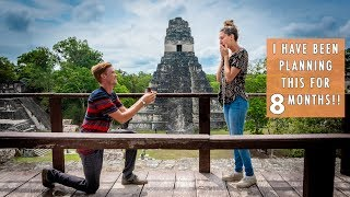 I PROPOSED AT THE TIKAL MAYAN RUINS | SHE WAS SHOCKED