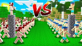 exrcito-de-clones-da-bella-vs-exrcito-de-clones-do-steve-no-minecraft