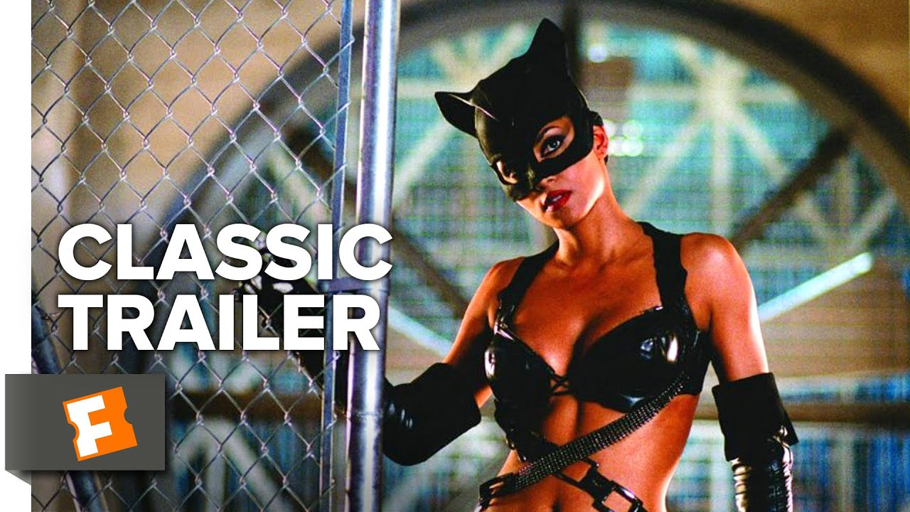 Catwoman 2004 Official Trailer Halle Berry Sharon Stone Movie