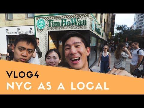 Exploring NYC as a Local - CHOWING Through Tim Ho Wan, Ootoya, Kunjip, and Doughnut Plant | VLOG4