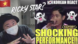 🇻🇳🇰🇷🔥[EXCLUSIVE!]Korean Hiphop Junkie react to RICKYSTAR in RAP VIỆT (VNM/ENG SUB)