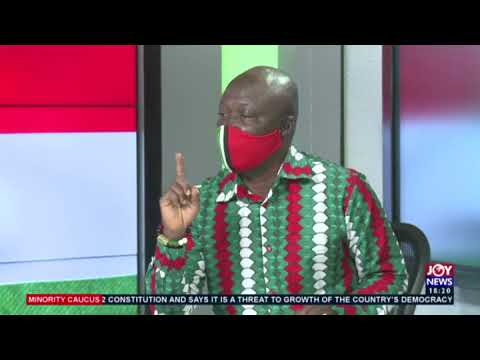 The People's Manifesto - Minority Caucus on Joy News (16-9-20)