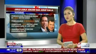 Janji-janji Jokowi dan Jusuf Kalla