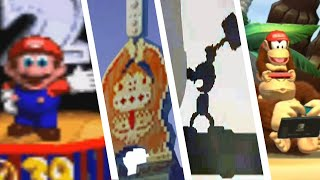 Evolution of Easter Eggs in Donkey Kong Games