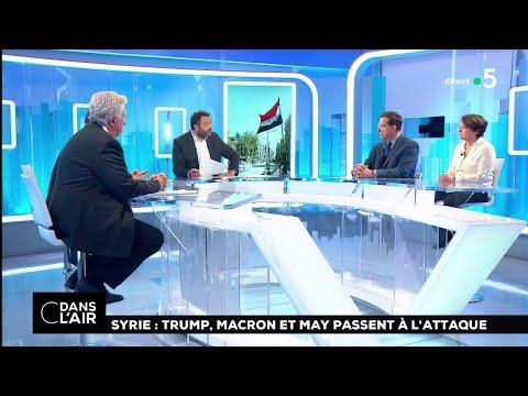 Syrie : Trump, Macron et May passent à l'attaque #cdanslair 14.04.2018
